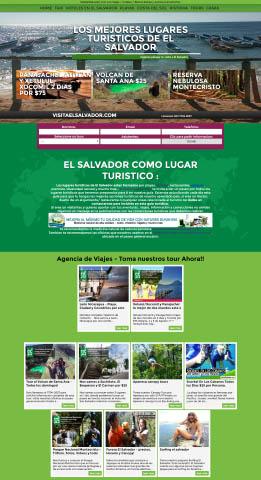 Diseño web Honduras | Paginas web para capturar clientes  Visita El Salvador – Web oficial
