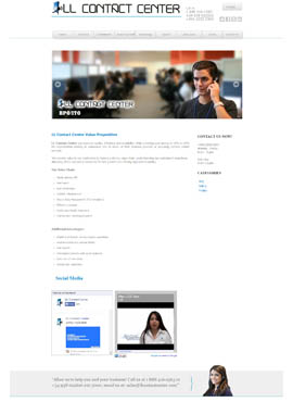 Diseño web Honduras | Paginas web para capturar clientes  LL Contact center