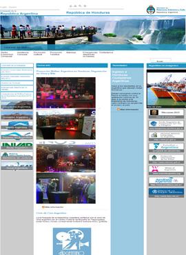 Desarrollo de aplicaciones web En honduras  Embajada de Argentina