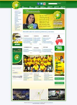 Diseño web Honduras | Paginas web para capturar clientes  Cooperativa Juticalpa Honduras