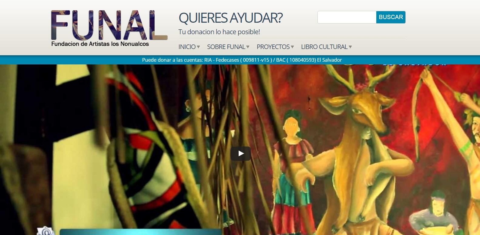 Desarrollo de aplicaciones web En honduras  FUNAL – La fundación que genera empleo por medio de sus programas para emprendimiento.